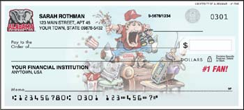 Alabama Crimson Tide personal checks