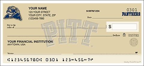 University of Pittsburgh Checks
